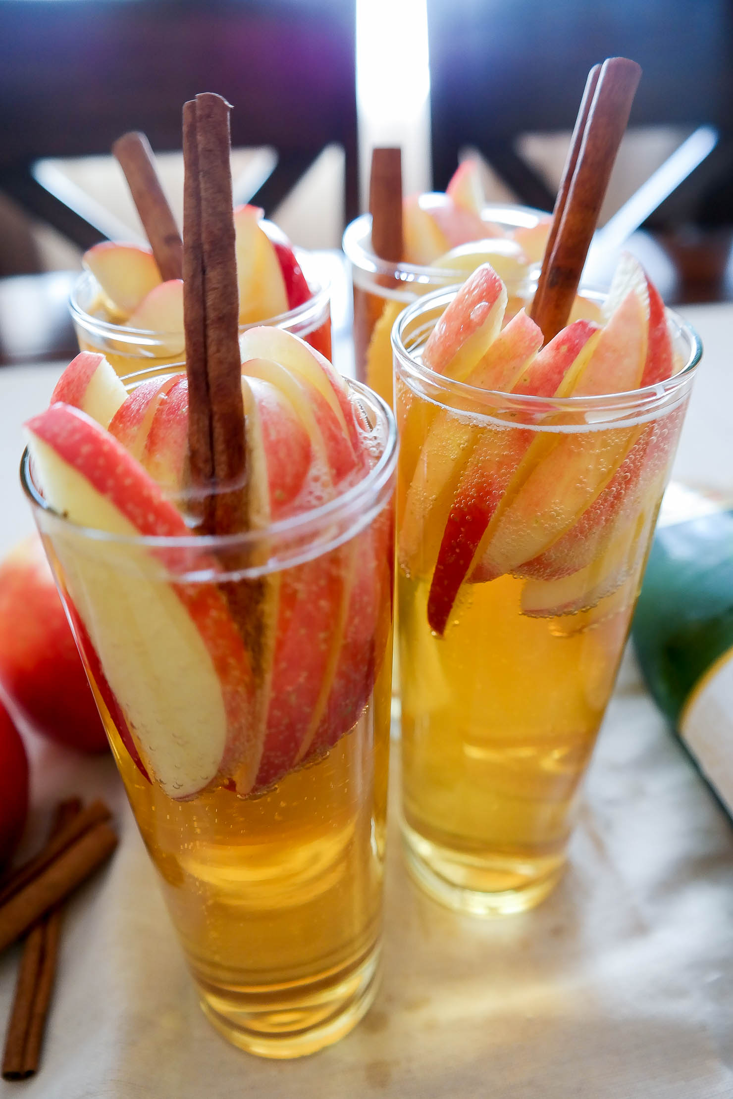 Sparkling Apple Cider Sangria with Martinelli's - Wishes ...