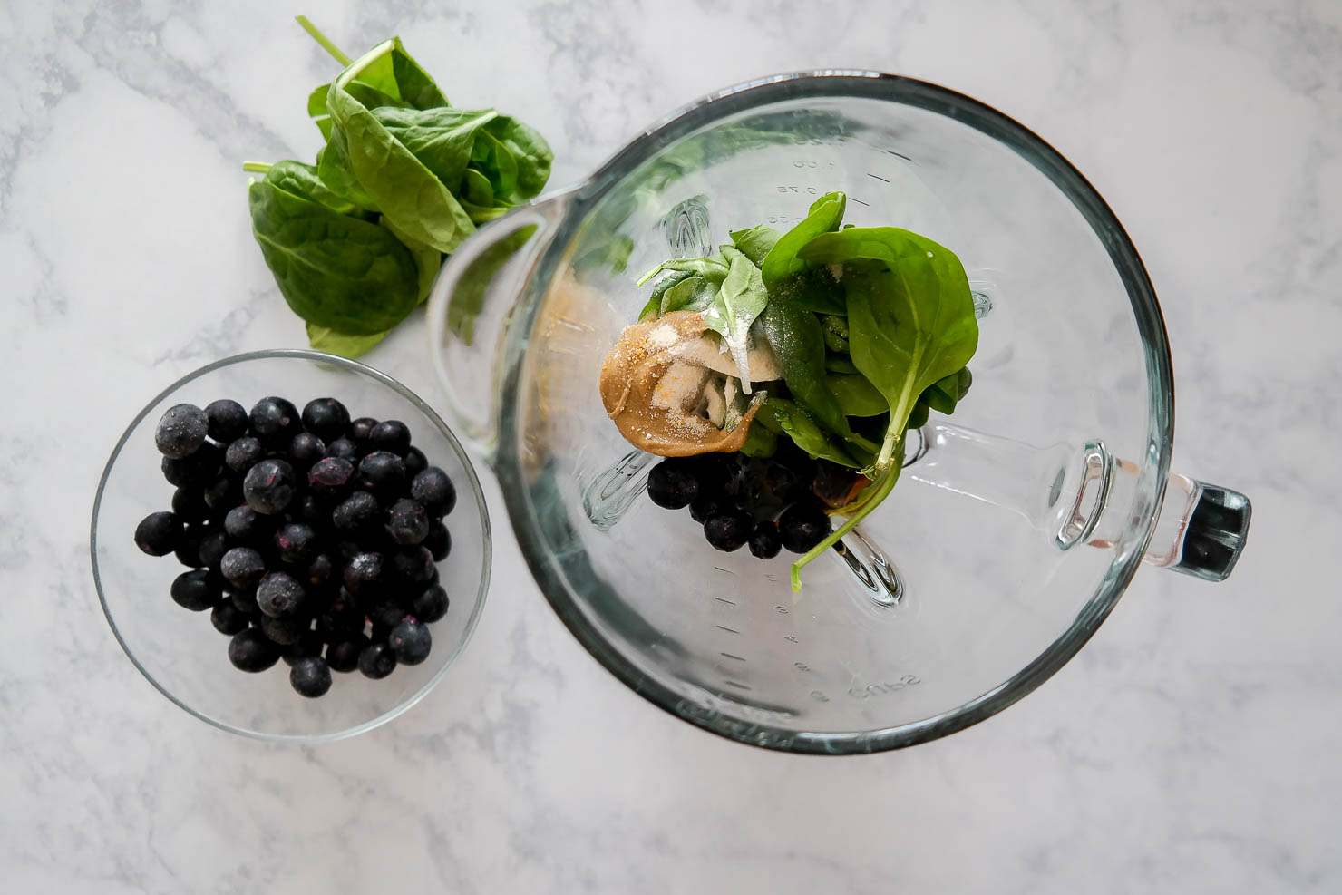 blueberry muffin immune boosting smoothie with Energen C