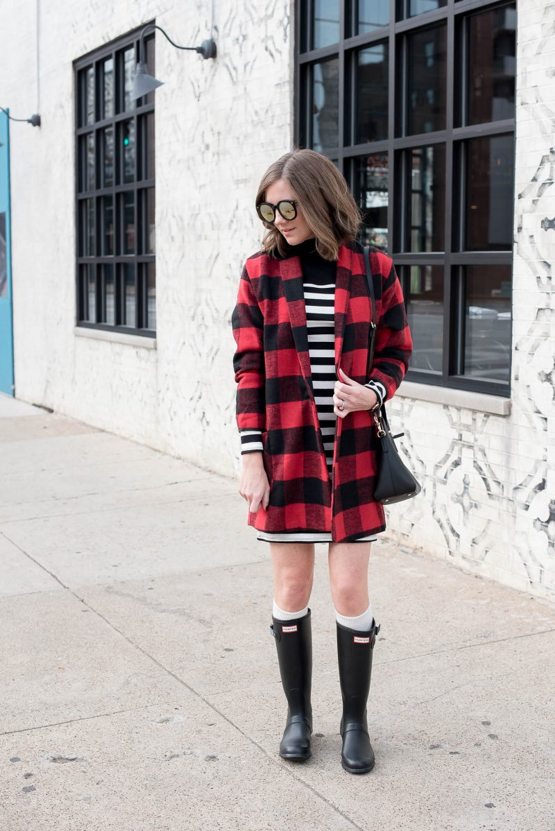 How to Wear Hunter Boots with a Dress - Wishes u0026 Reality