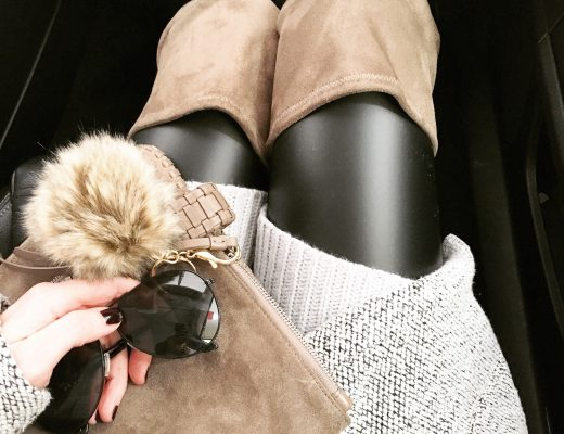 instagram-leather-leggings-and-tan-over-the-knee-boots-grey-tan-and-black-outfit