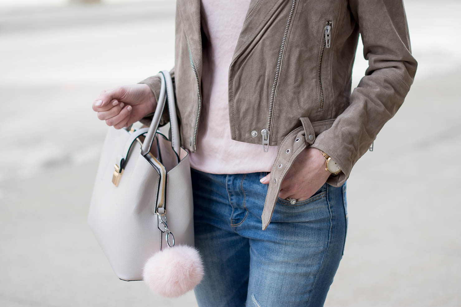 the-best-suede-moto-jacket-spring-neutrals-the-best-distressed-skinny-jeans-celine-dupe-spring-outfit-idea-my-spring-uniform