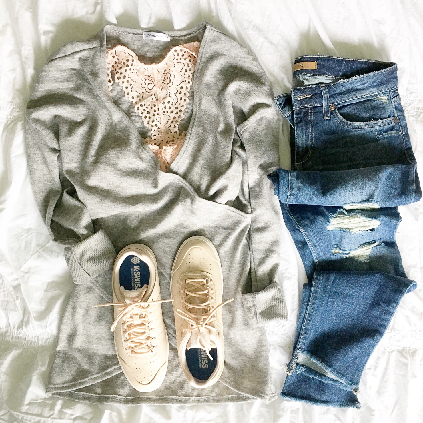 wrap-front-sweater-blush-bralette-blush-sneakers