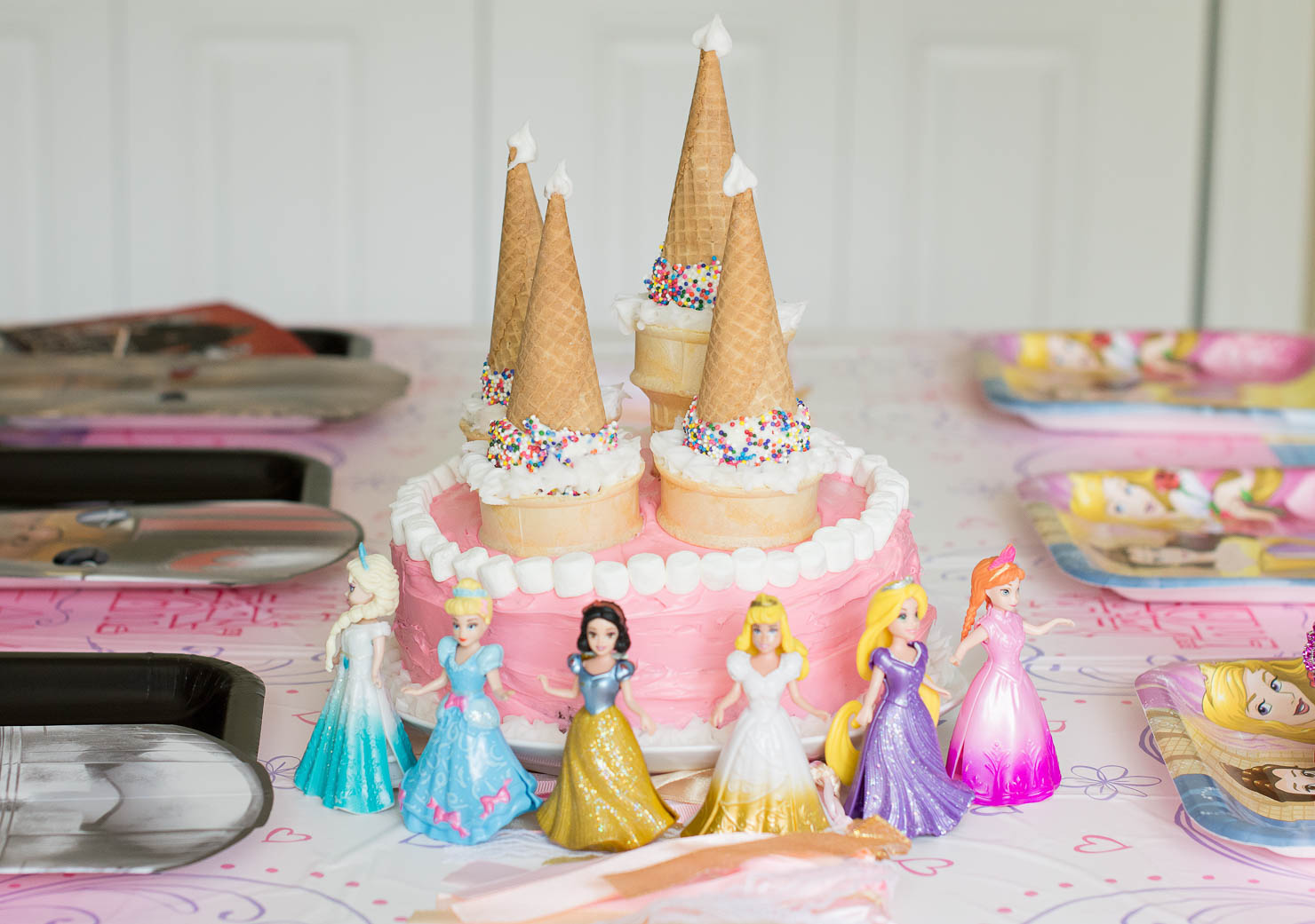 An Easy Princess Cake For Your Little Princess Wishes Reality