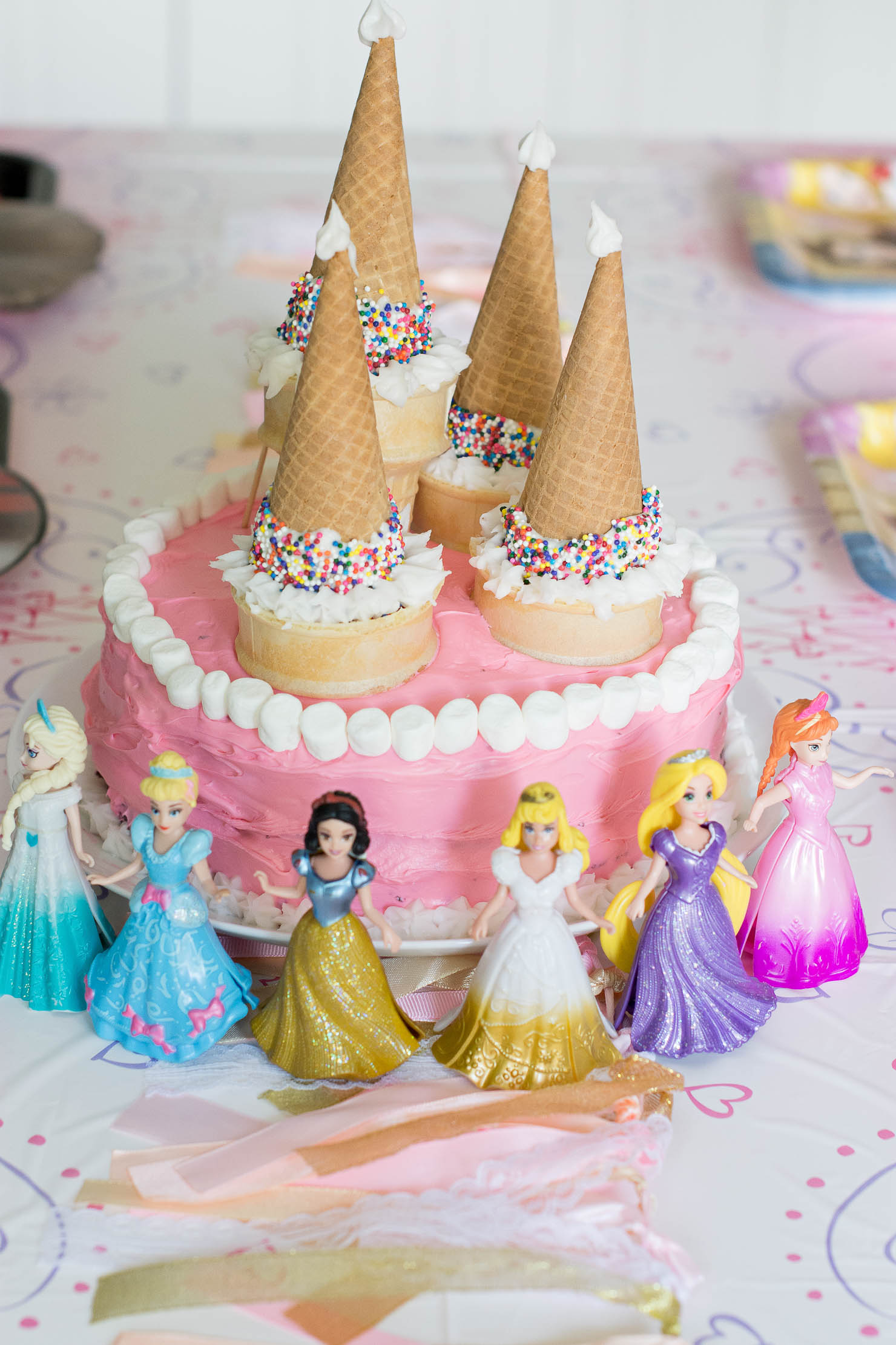 An Easy Princess Cake For Your Little Princess Wishes