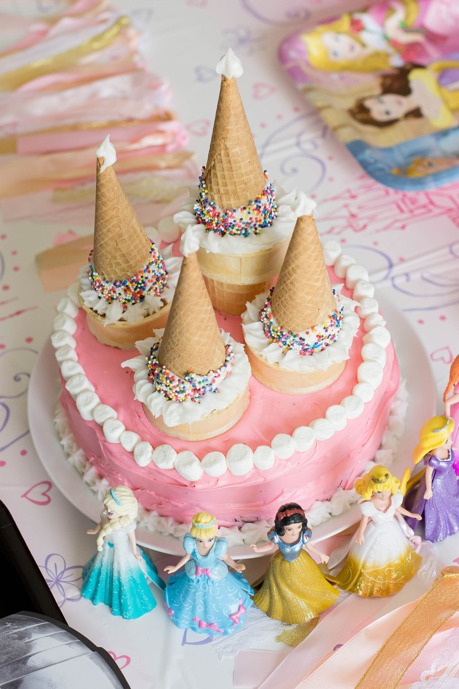American Greetings At Target Decorating For A Princess Birthday Party An Easy Cake