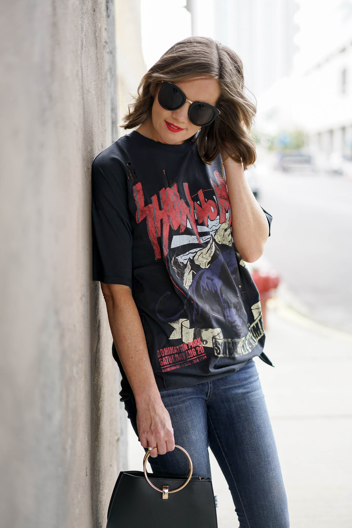 Mom Style: Styling the Graphic Tee Shirt