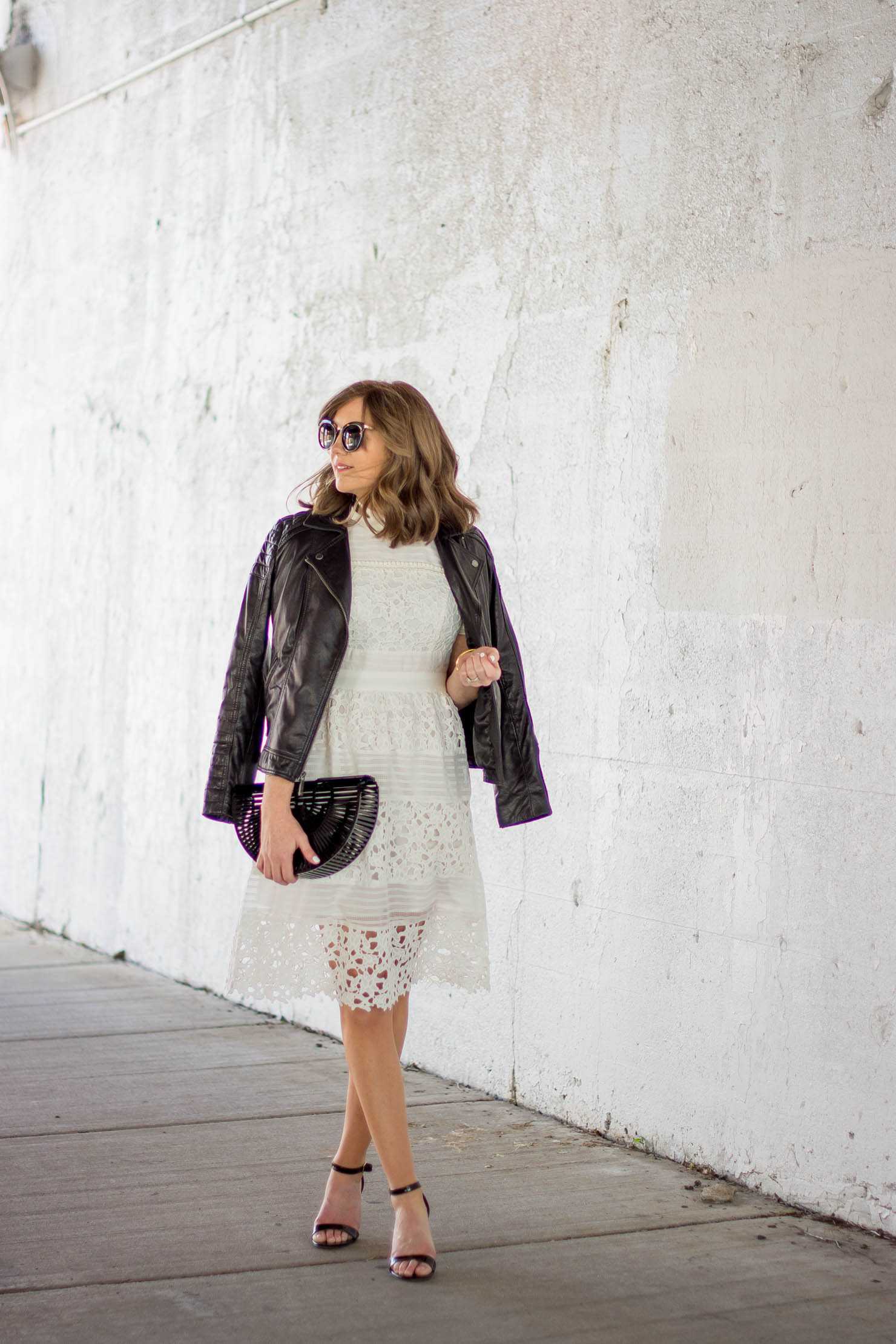 Wear White After Labor Day 2 Ways To Style A Dress For Fall