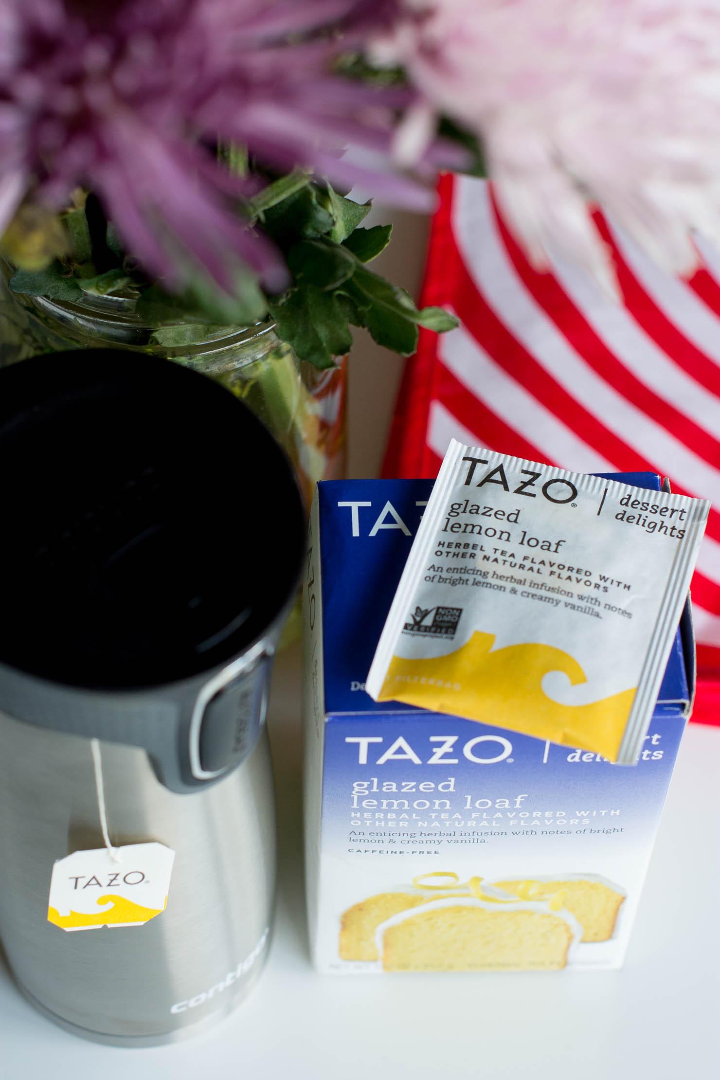 Creative gift ideas, contigo autoseal west loop travel mug, tazo dessert delight teas, how contigo and tazo teas get me through the day, getting through the day with tazo teas and contigo