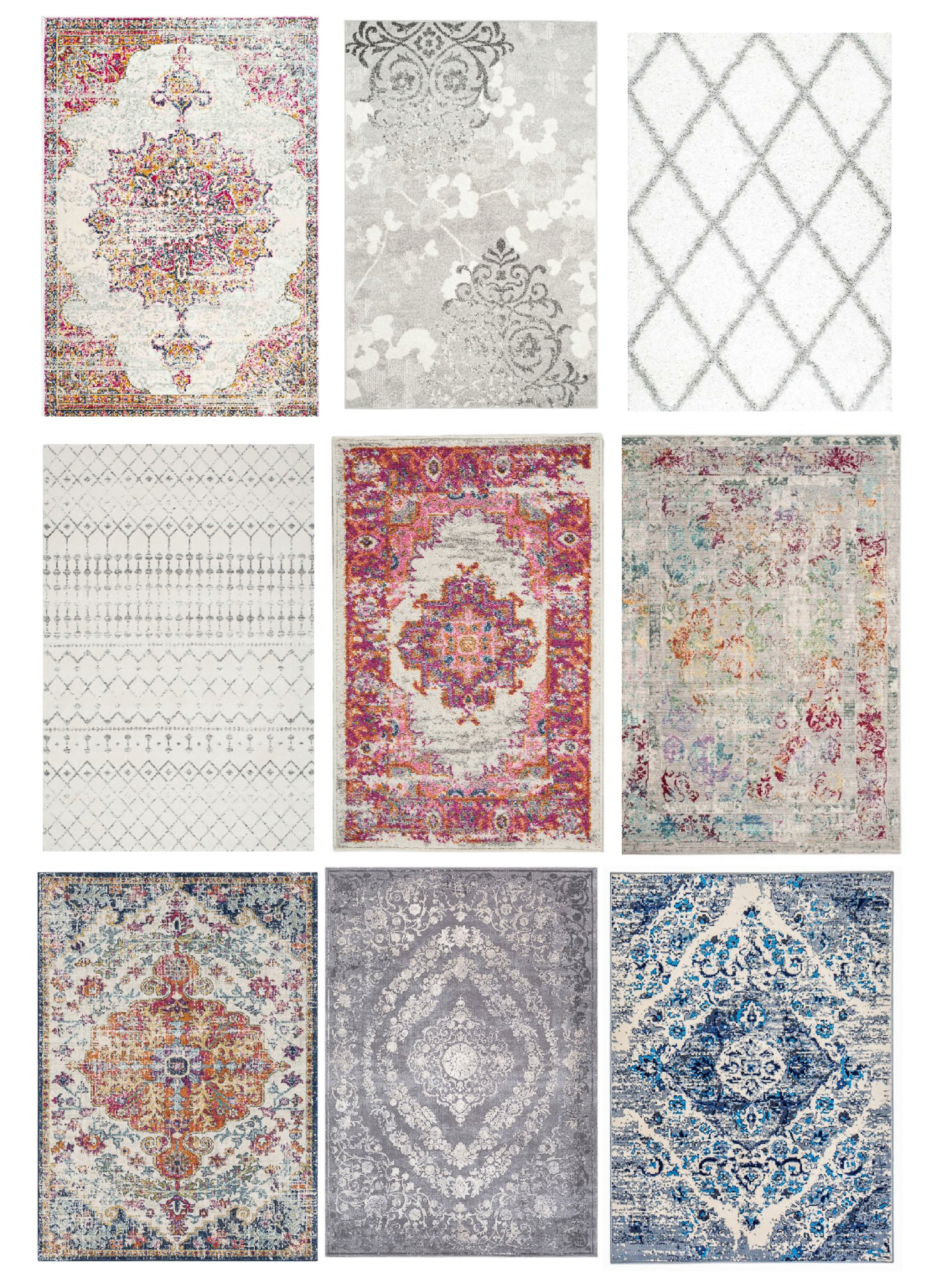 affordable area rugs, inexpensive quality rugs, easy and affordable home updates, spring 2018 interior trends