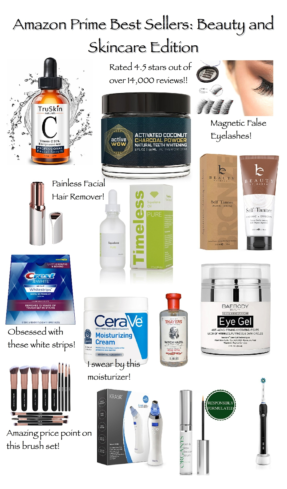 amazon prime best sellers beauty and skincare