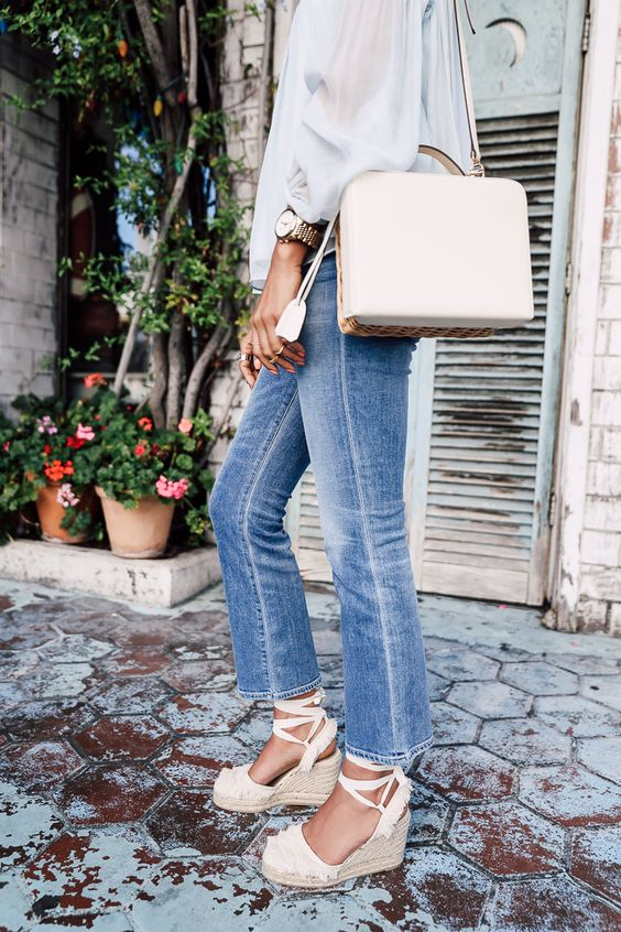 How To Style Espadrille Wedges Wishes Amp Reality