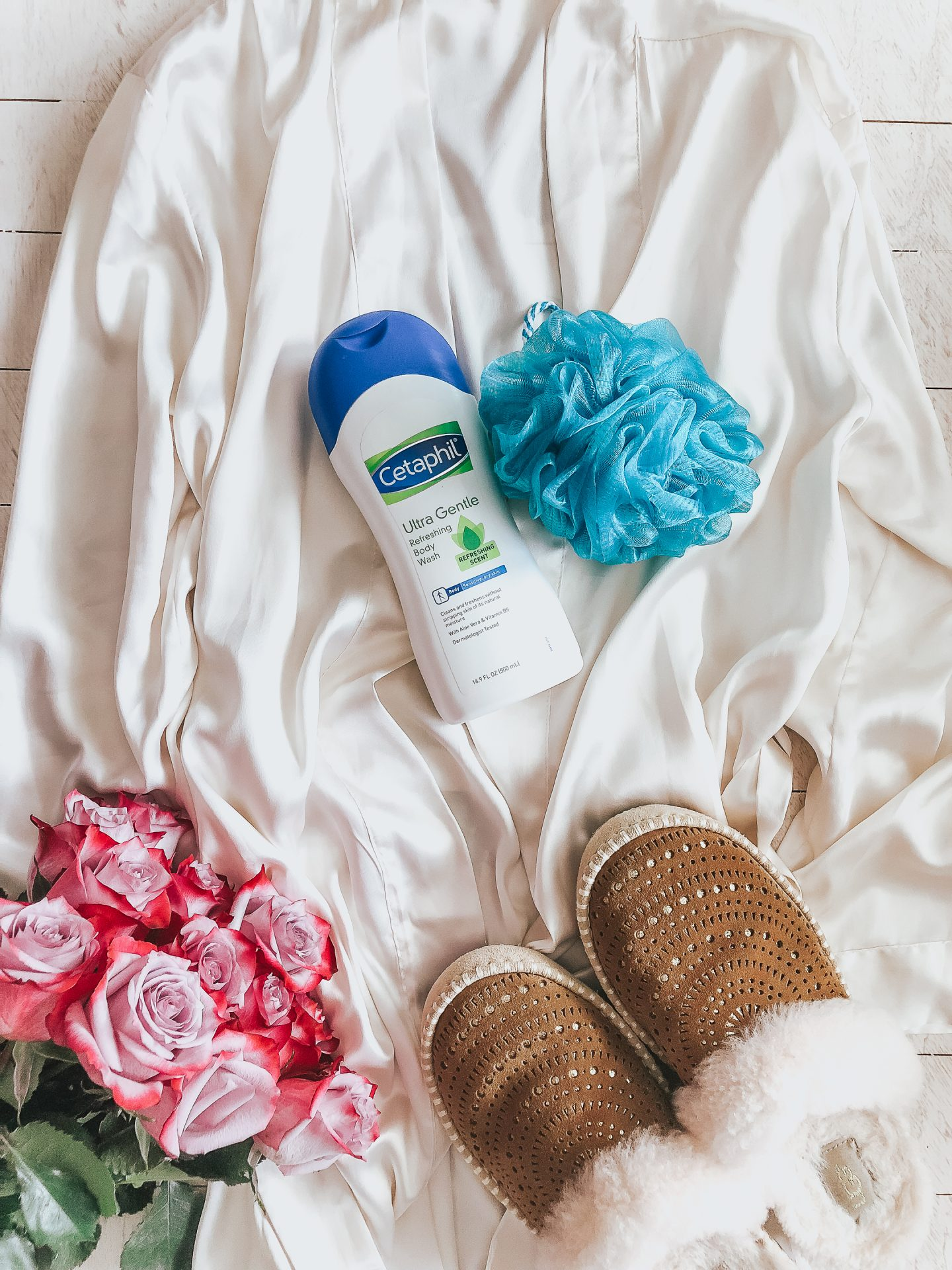 Cetaphil body wash for sensitive skin, CVS, year round skin care for the whole family