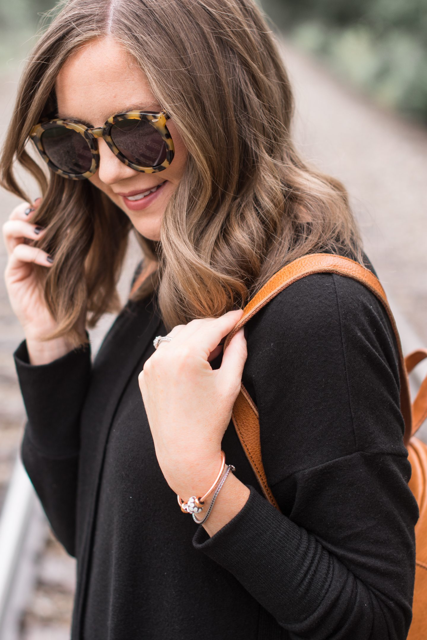 Adventures With Trollbeads Fall 2018 Collection, comfy and cute travel outfit, what to wear when traveling, fall 2018 accessory trends