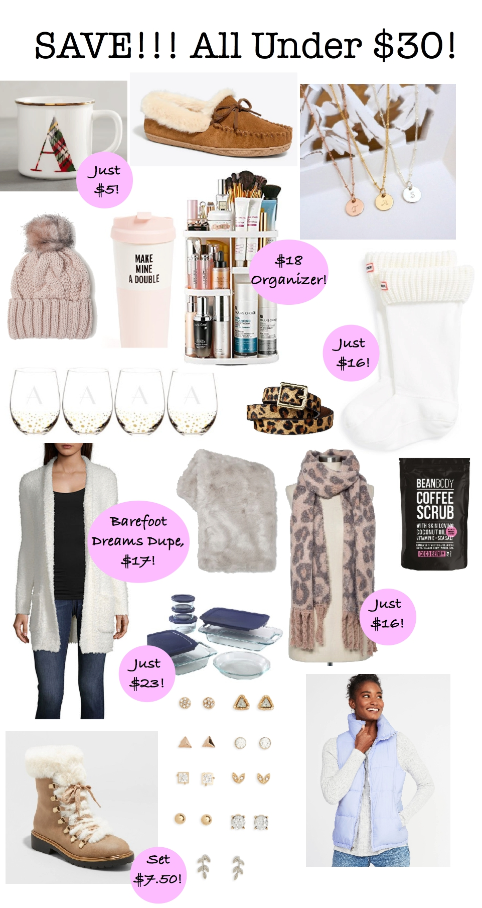 Gift Guide for Her - Save or Splurge, holiday gift guide 2018, splurge, Shopbop, Black Friday sales, gift guide for her
