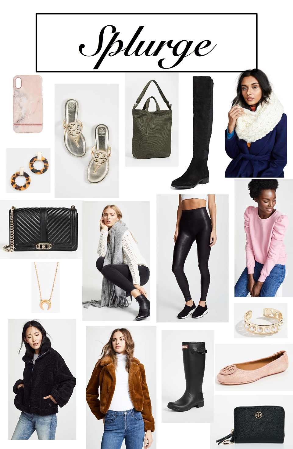 Gift holiday guide fashion splurges