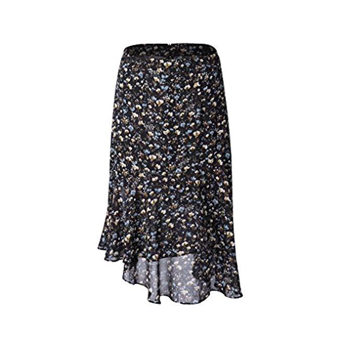 January's Top Ten, Amazon fashion, floral ruffled midi skirt