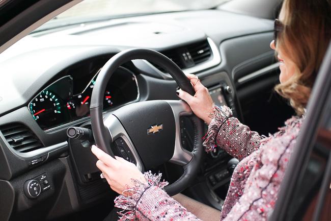 2016 chevy LTZ interior