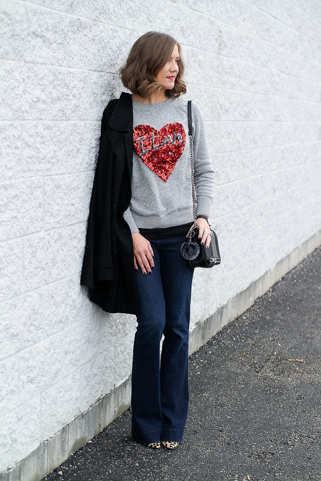 Casual Valentine's Day outfit