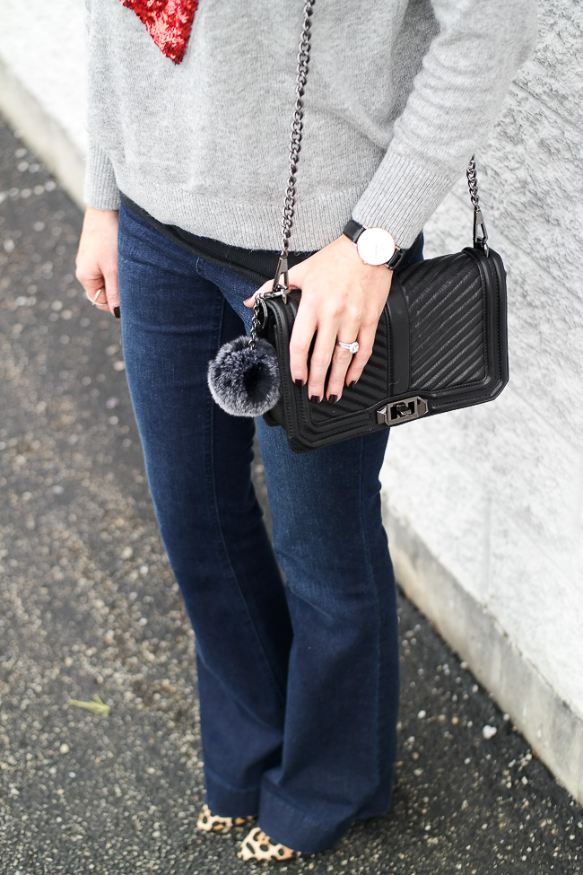 J Brand flared jeans look for less