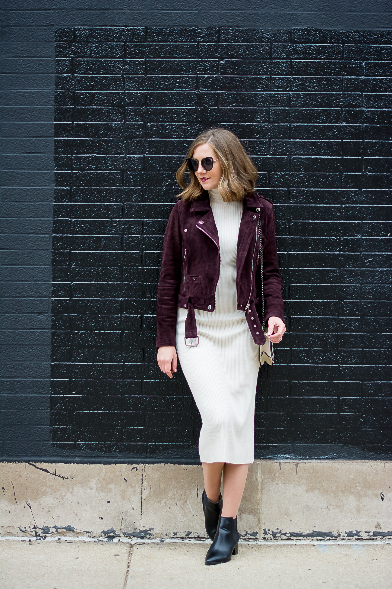 e50b0f8390 Black Leather Midi Skirt Zara – DACC