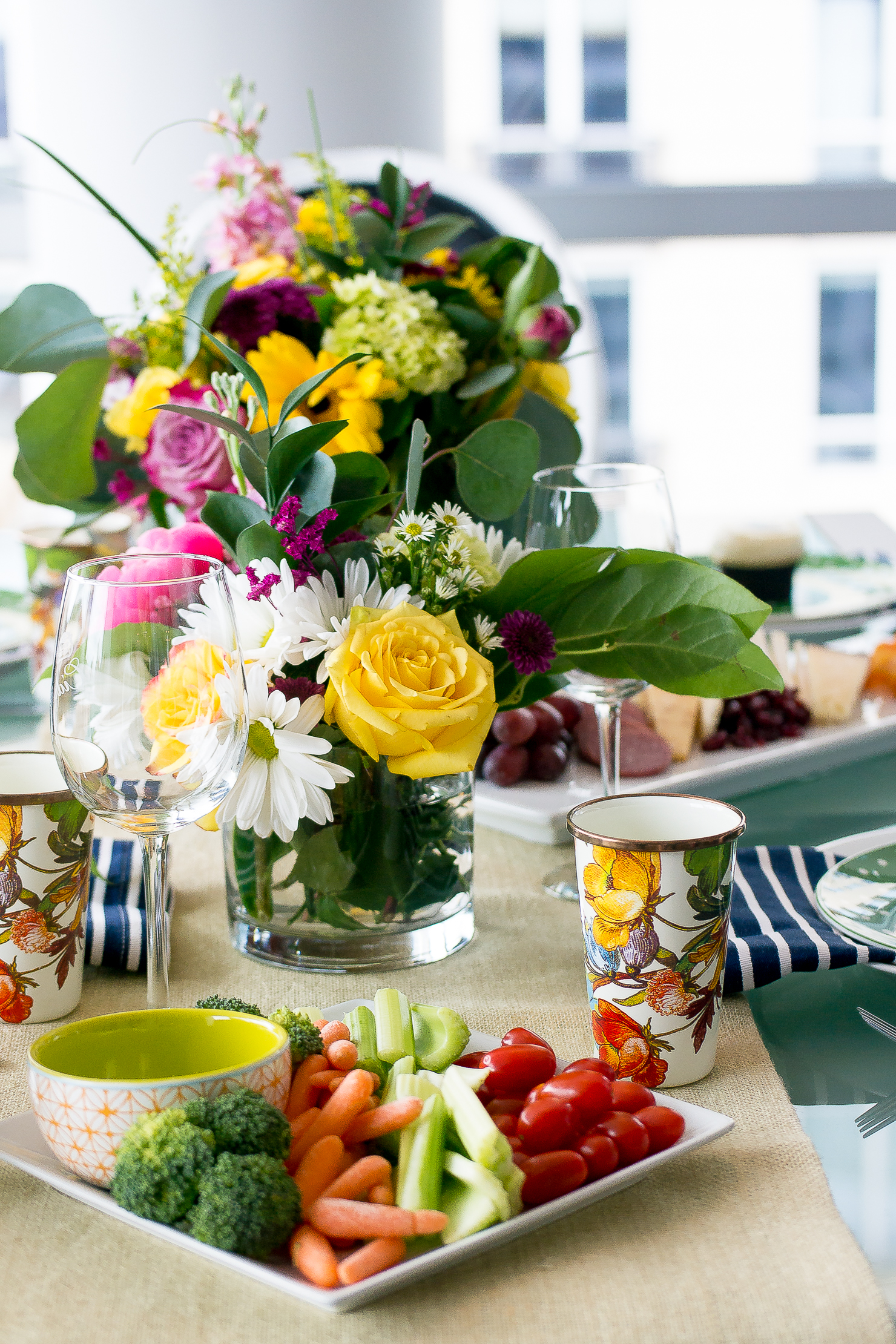 kentucky derby table scape