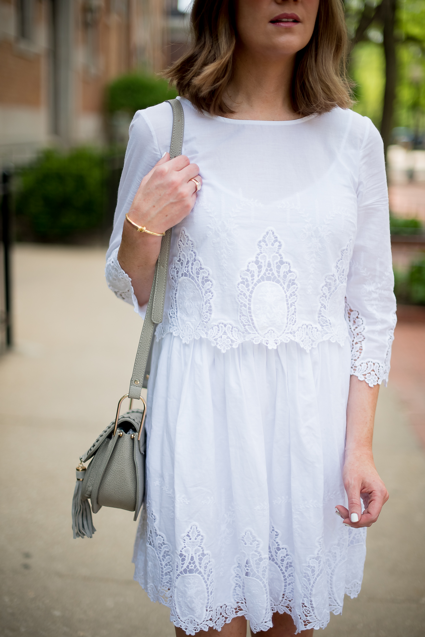 d12eb7c384 The Perfect Chloe  Hudson  Dupe and a Lace Popover Dress - Wishes ...