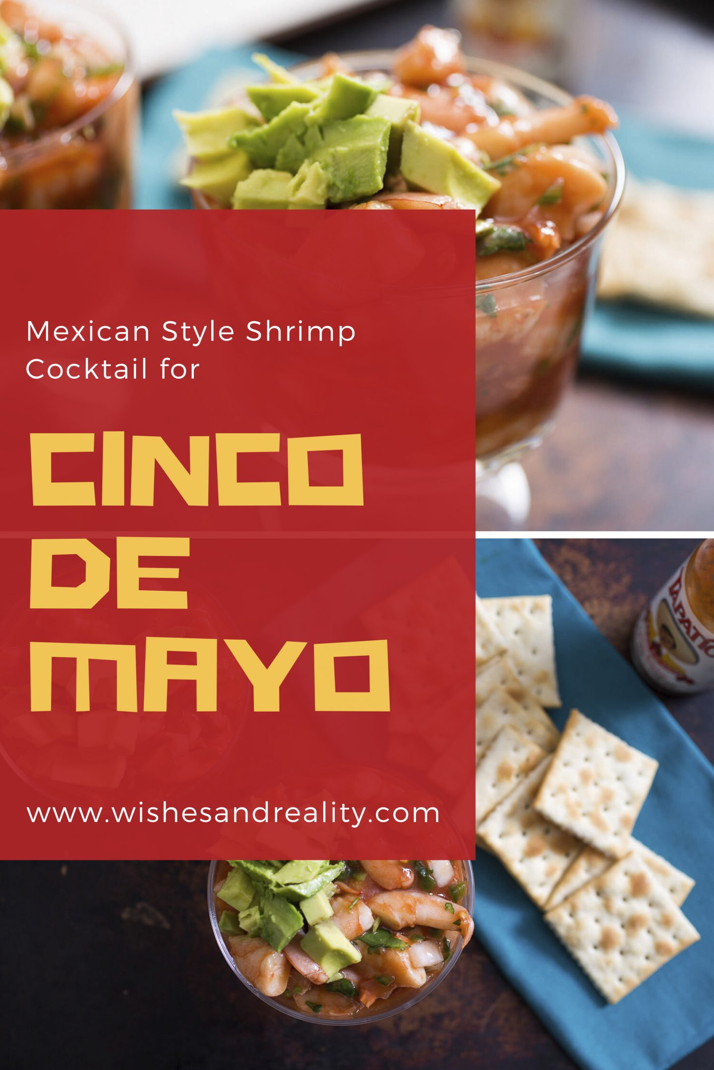 Mexican Style Shrimp Cocktail for Cinco de Mayo