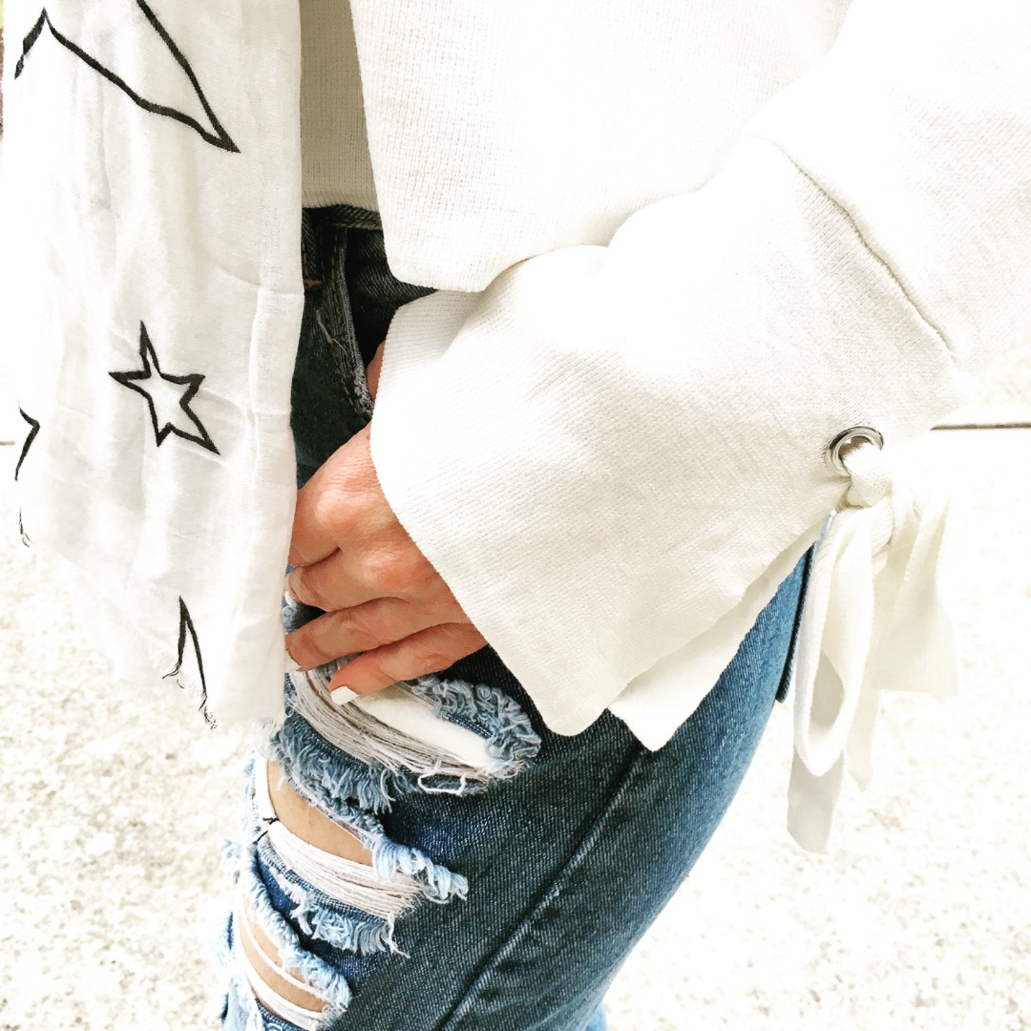 zara-bell-sleeve-tie-cuff-sweater-star-print-scarf-