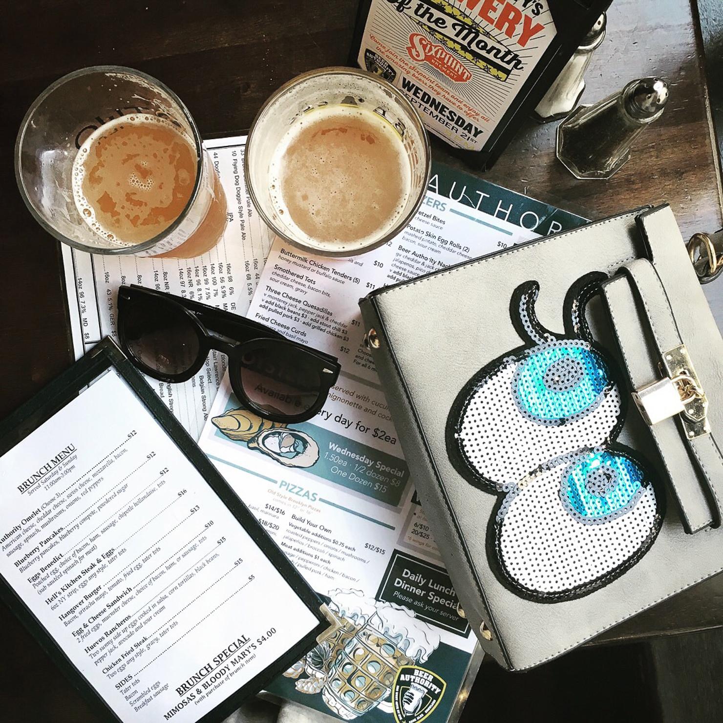 happy-hour-in-new-york-shein-sequin-eye-satchel-beer-authority-ny-nyfw