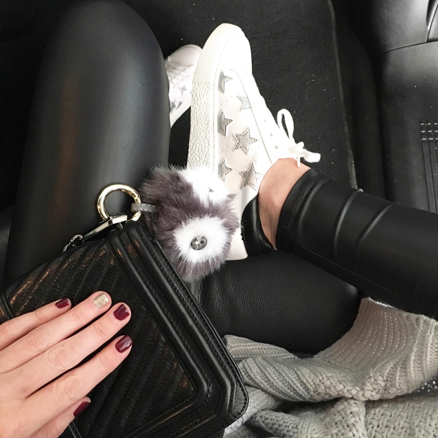 star-sneakers-leather-leggings-owl-bag-charm-instagram