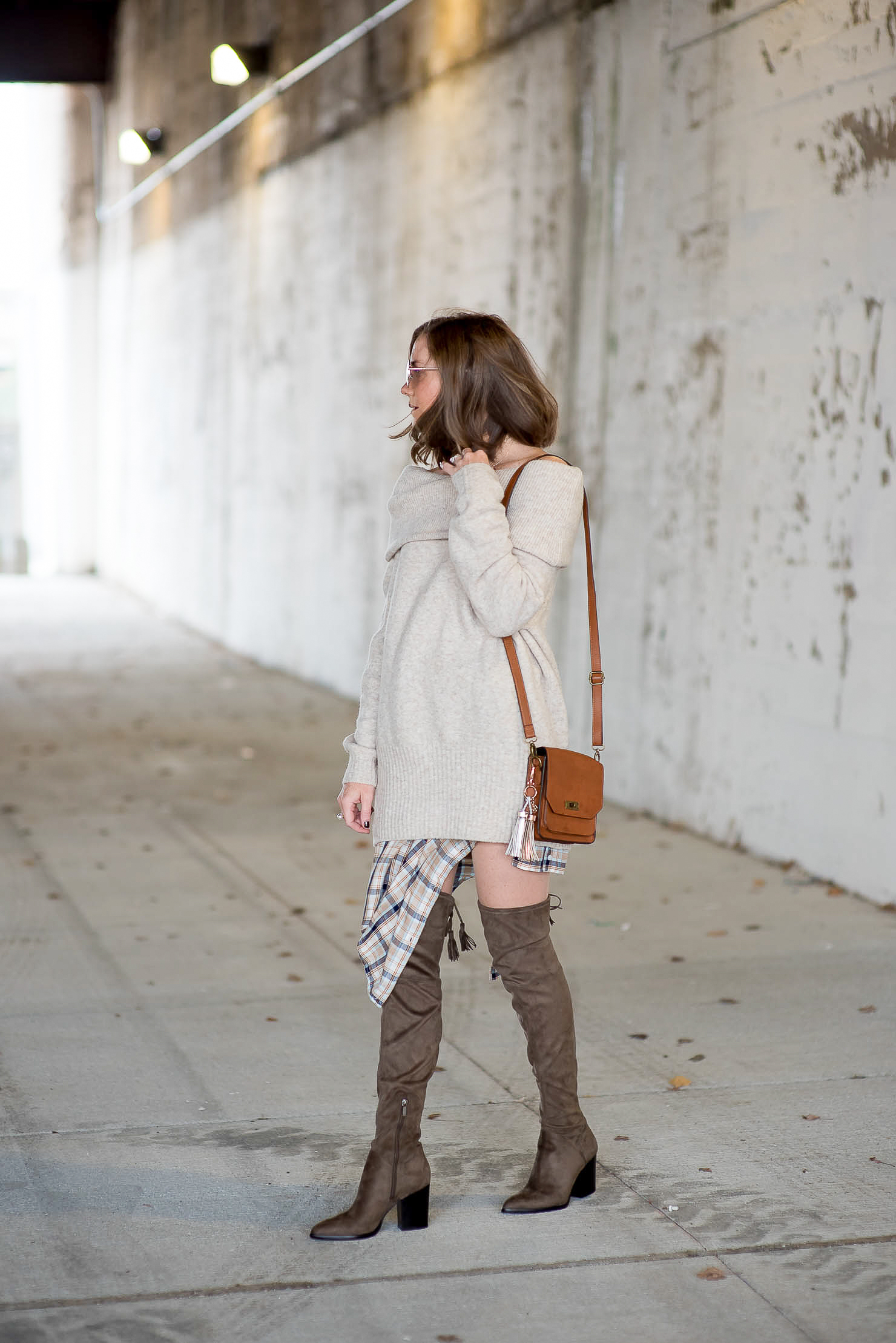 A Year in Review: My Favorite Outfits of 2016, the best over the knee boots by Marc Fisher