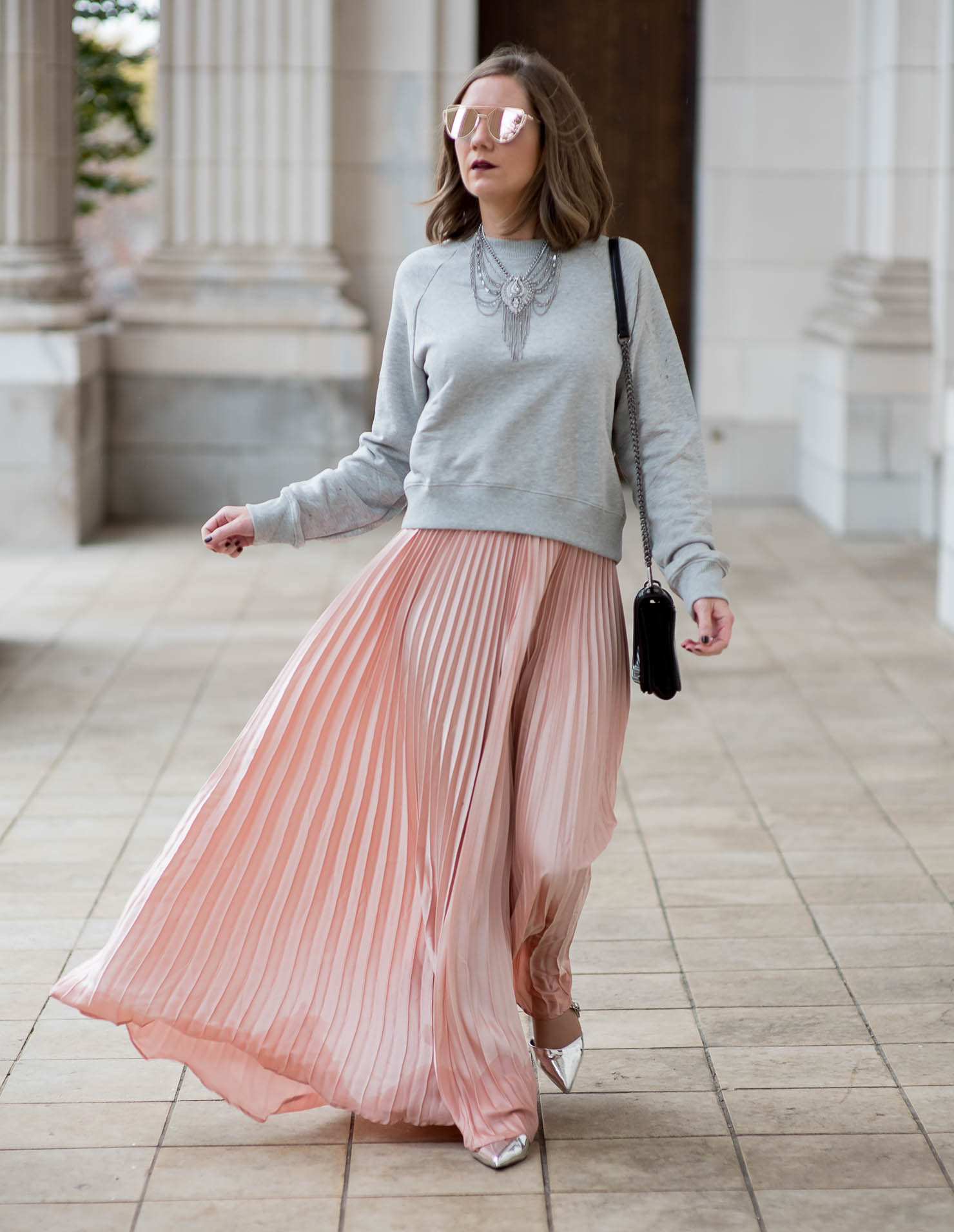 6accd9098 Pink Maxi Skirt Outfits Pinterest – DACC