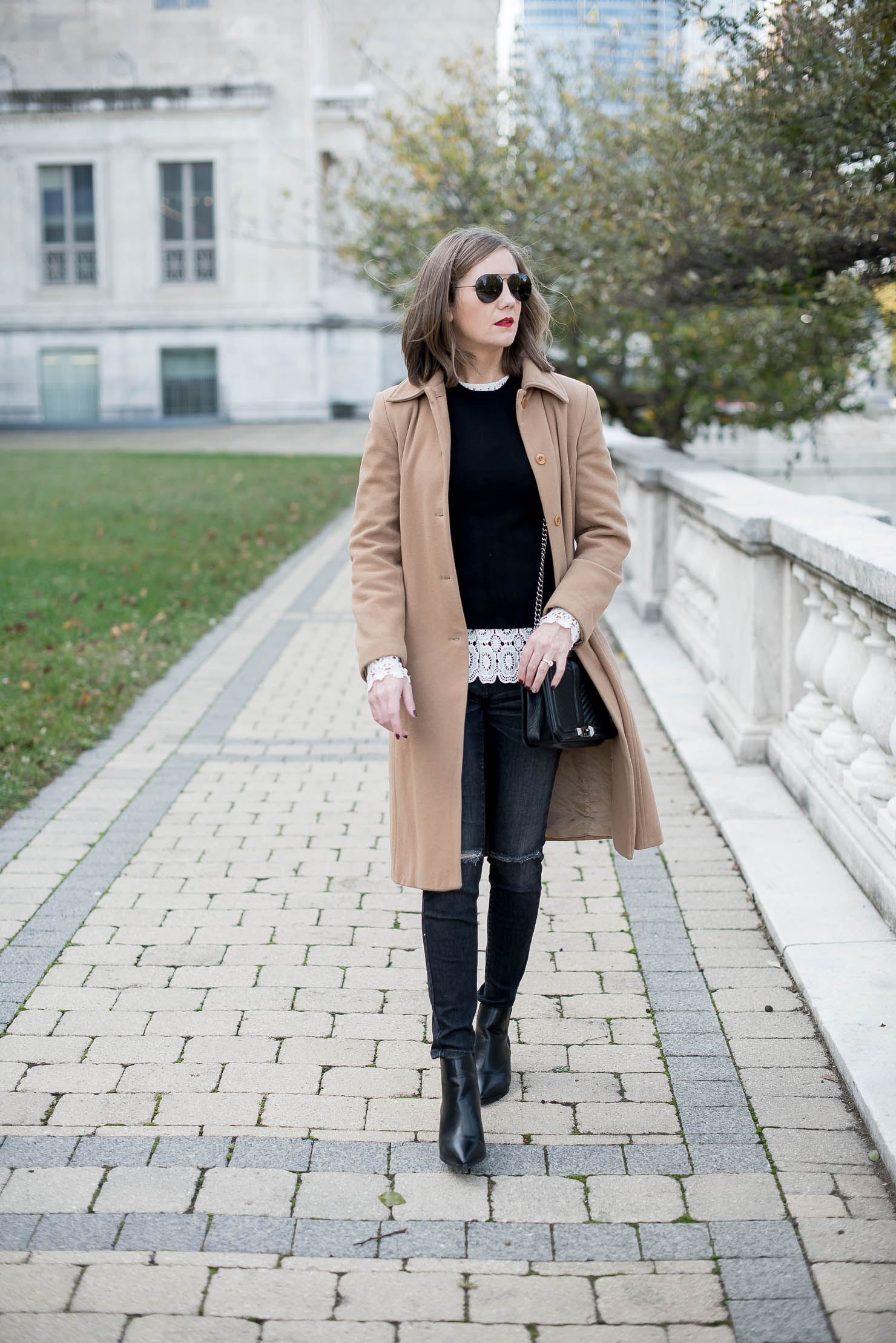 a-menswear-inspired-outfit-with-lace-accents-wardrobe-workhorse-camel-coat