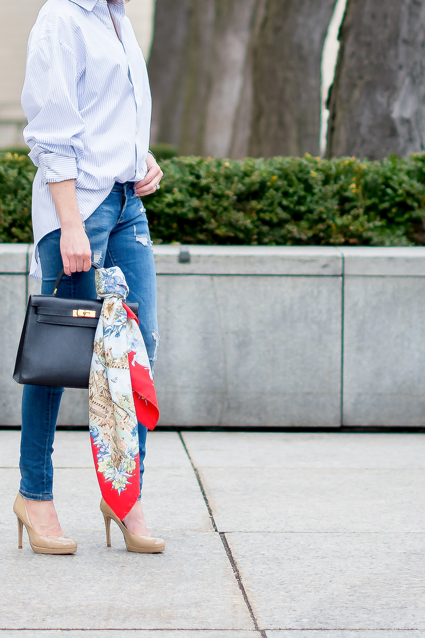 A Year in Review: My Favorite Outfits of 2016, the iconic Hermes Kelly bag