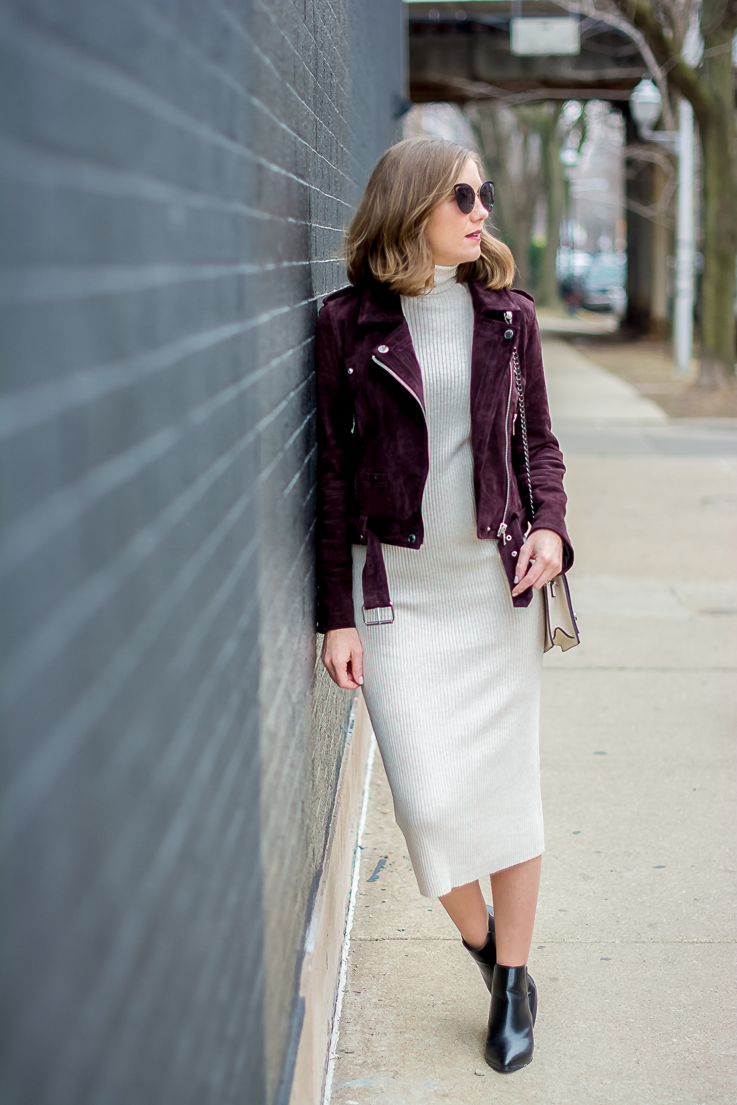 A Year in Review: My Favorite Outfits of 2016, styling a bodycon midi dress for any age