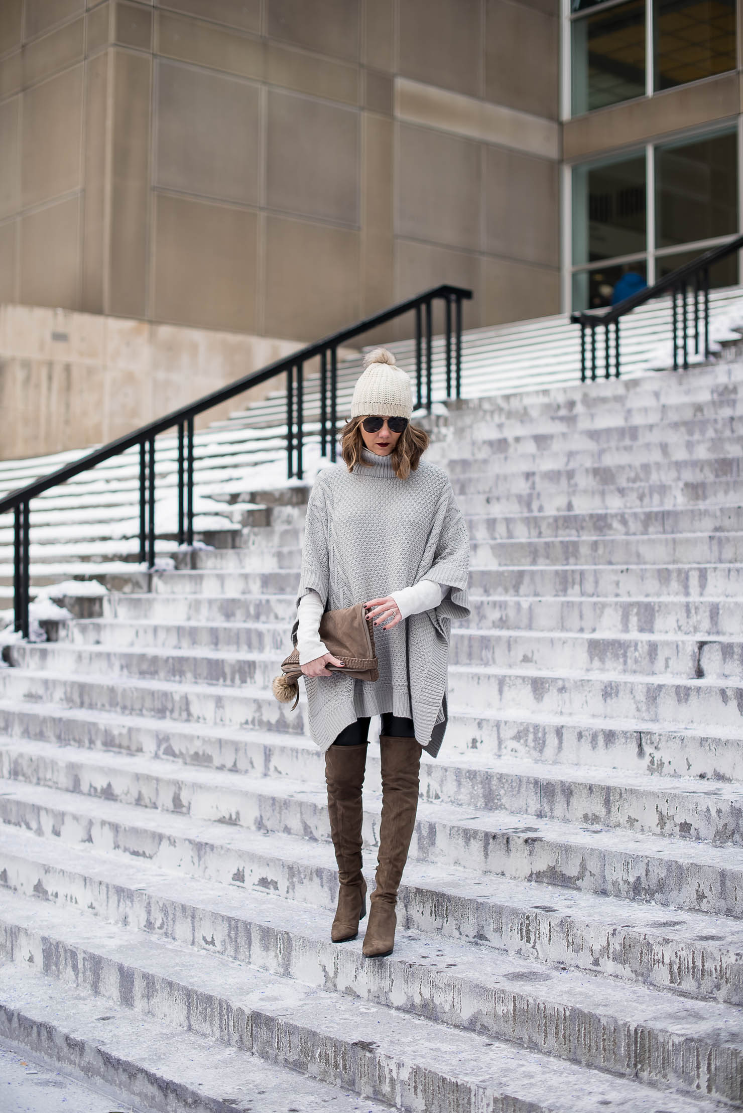 how-to-style-a-poncho-shein-oversized-ponch-the-best-over-the-knee-boots-marc-fisher-alinda-boots-chiberia-staying-warm-and-looking-great