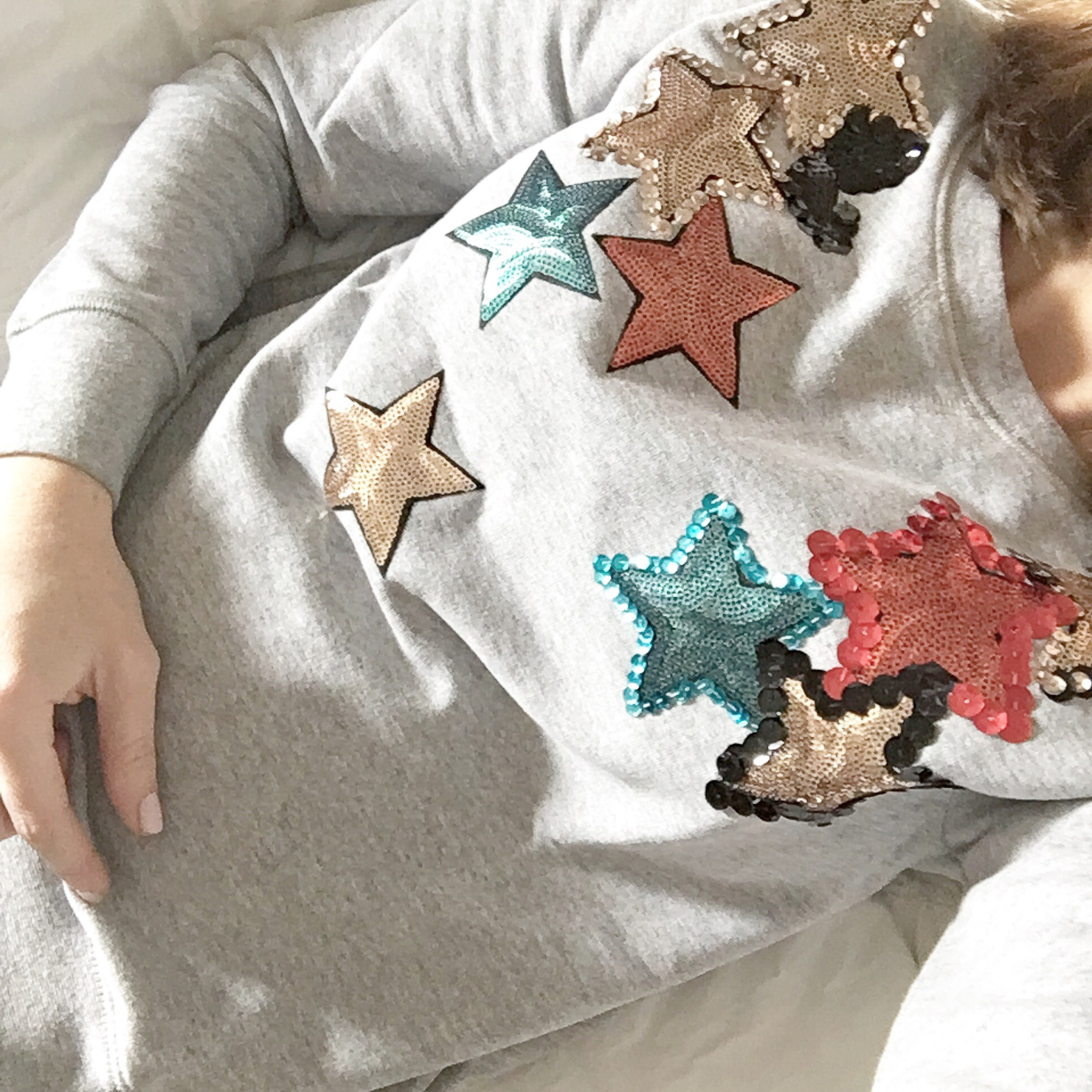 instagram-george-j-love-star-embellished-sweatershirt