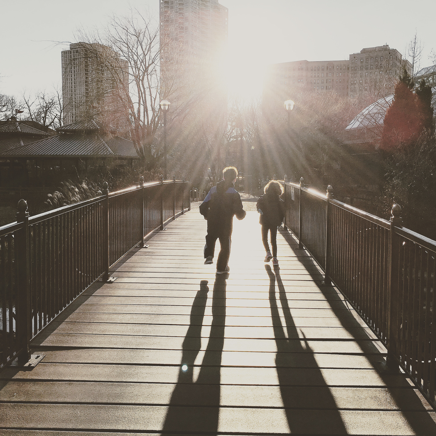 instagram-kids-running-into-sunset-lincoln-park-zoo-chicago
