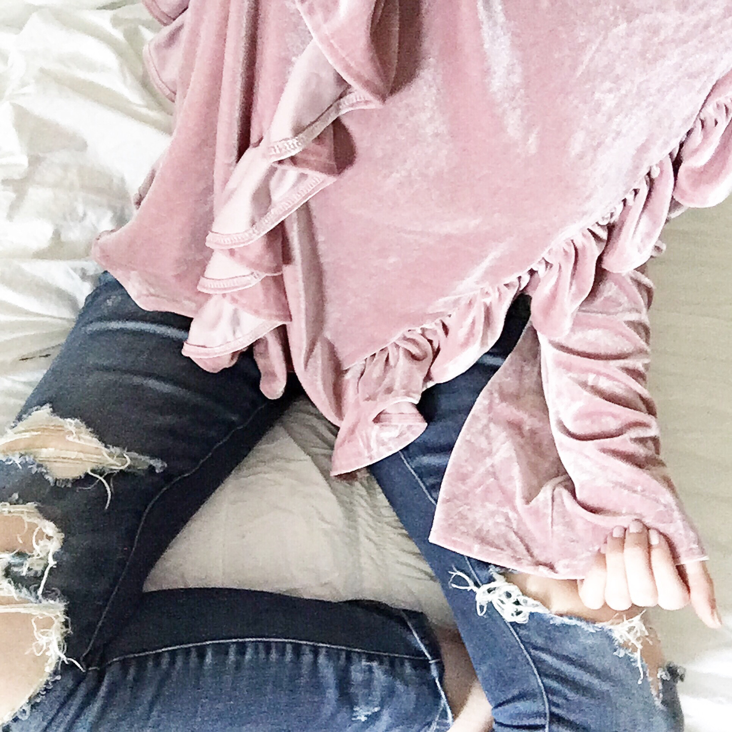 instagram-spring-2017-how-to-shop-my-instagram-with-like-to-know-it-screenshot-shein-pink-velvet-ruffled-top