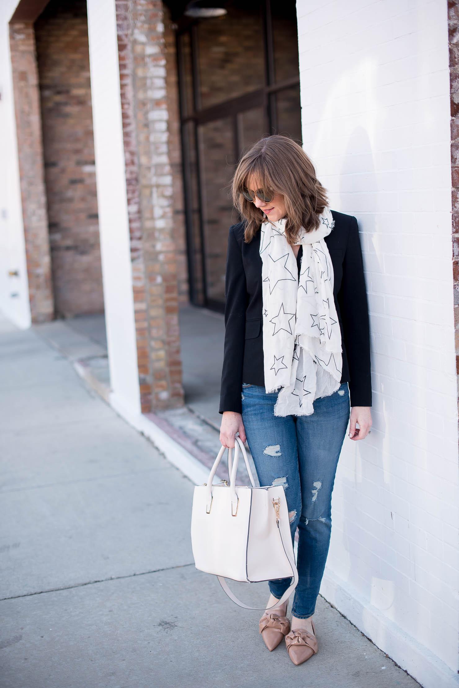 spring-trend-report-star-print-zara-star-print-scarf-blush-bow-flats
