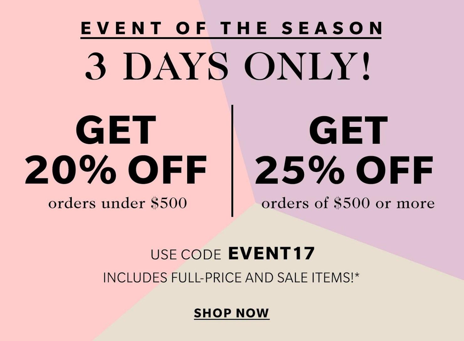 huge shopbop spring sale, all under $100, nordstrom giveaway