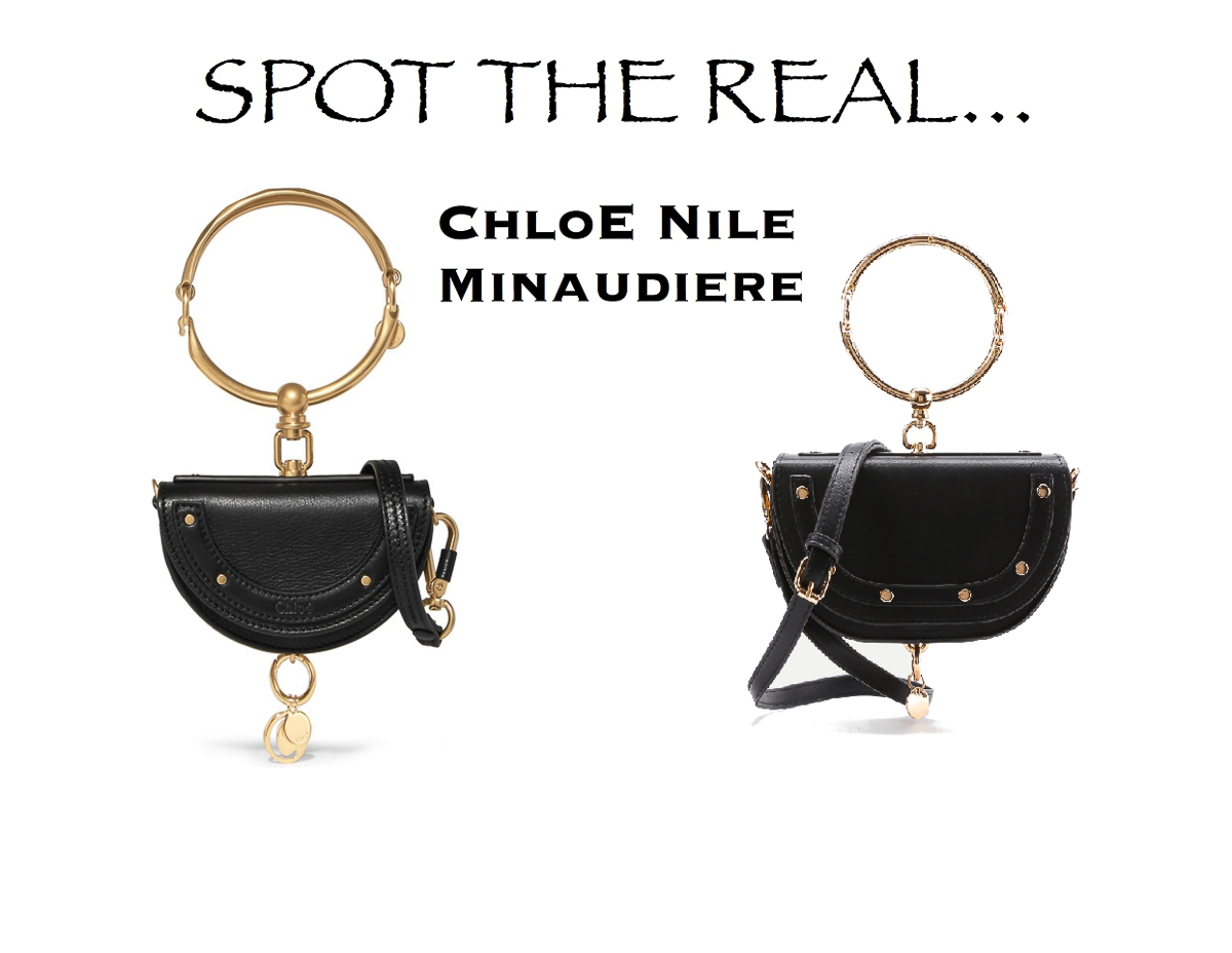 Chloé Nile Minaudiere look for less, designer daupe