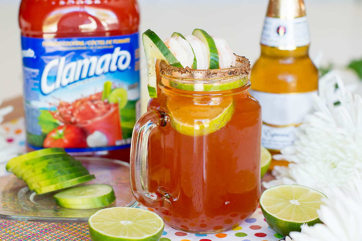 authentic mexican ceviche michelada, clamato michelada recipe, modelo cerveza