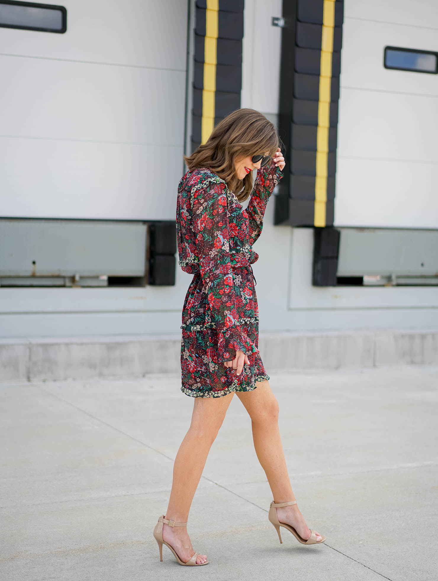 the perfect printed wear everywhere dress, scotch & soda maison scotch mixed print, leopard and floral dress