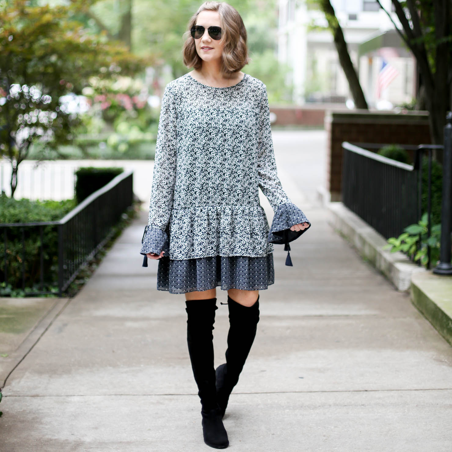 perfect fall dress, fall fashion 2017, tularosa berkley dress, fall boot guide, how to style your favorite dresses for fall, the best booties fall 2017, the best investment boots