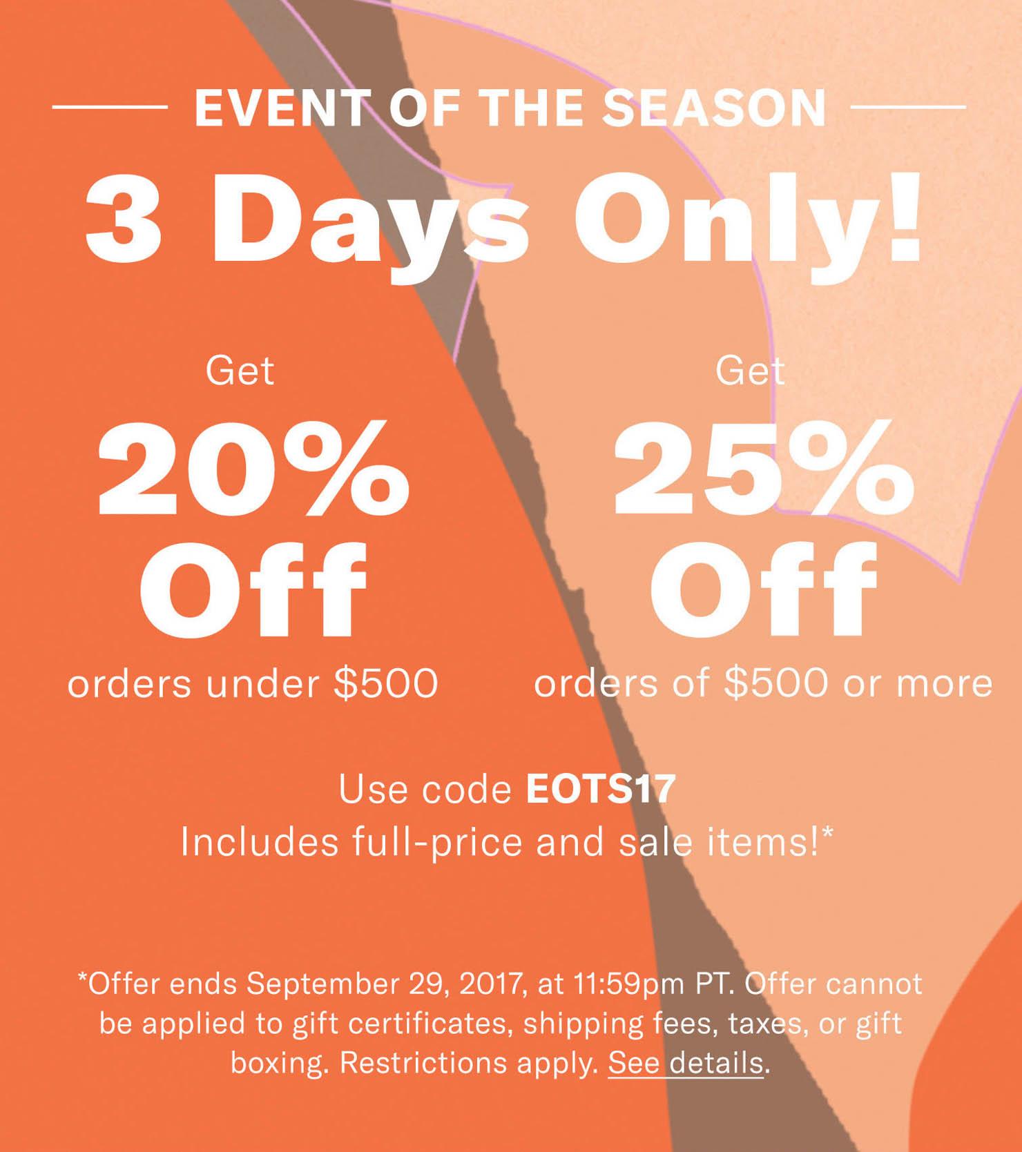 Shopbop fall sale 2017, fall trends 2017, fall wardrobe essentials, fall stock up