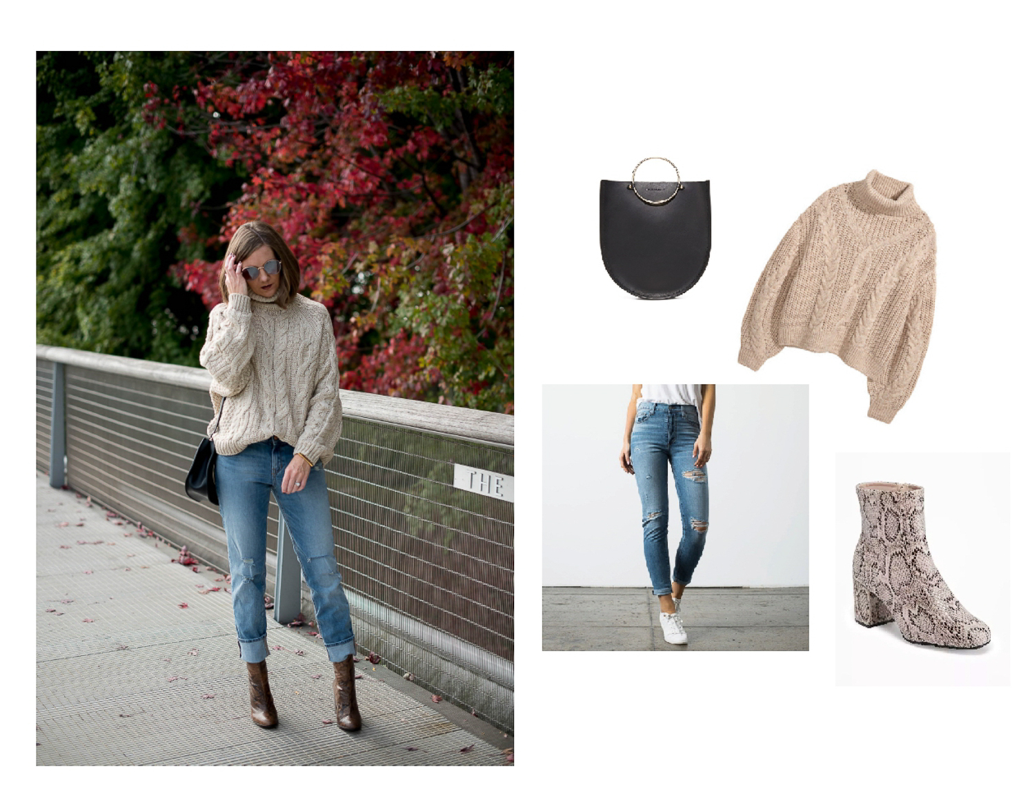 easy thanksgiving outfit ideas, casual thanksgiving look