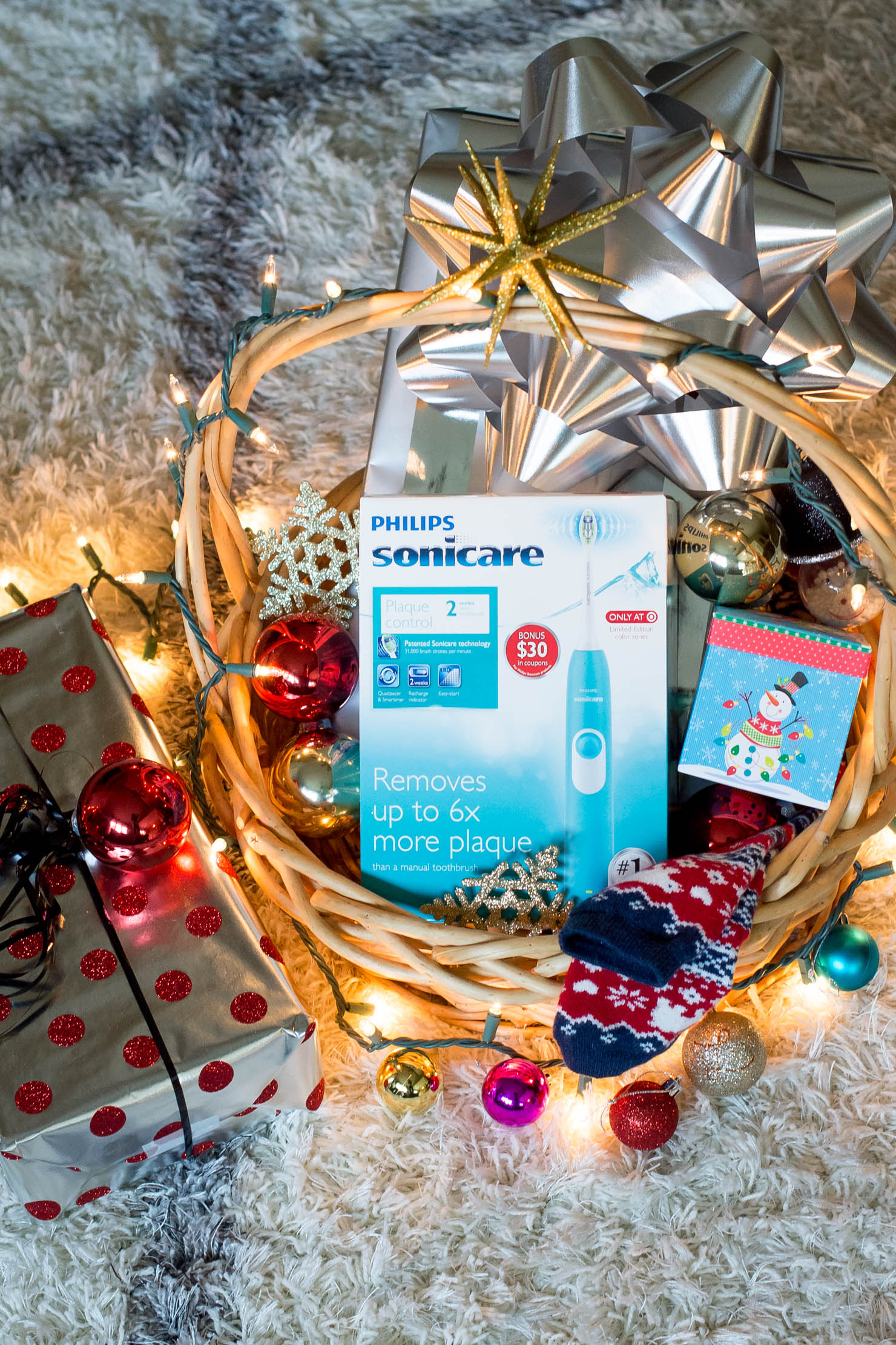 Give the Gift of Sonicare this Holiday Season, give sonicare for the holidays to the woman in your life the last toothbrush you'll buy, philips sonicare at target