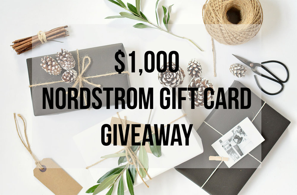nordstrom giveaway, holiday giveaway, winter fashion
