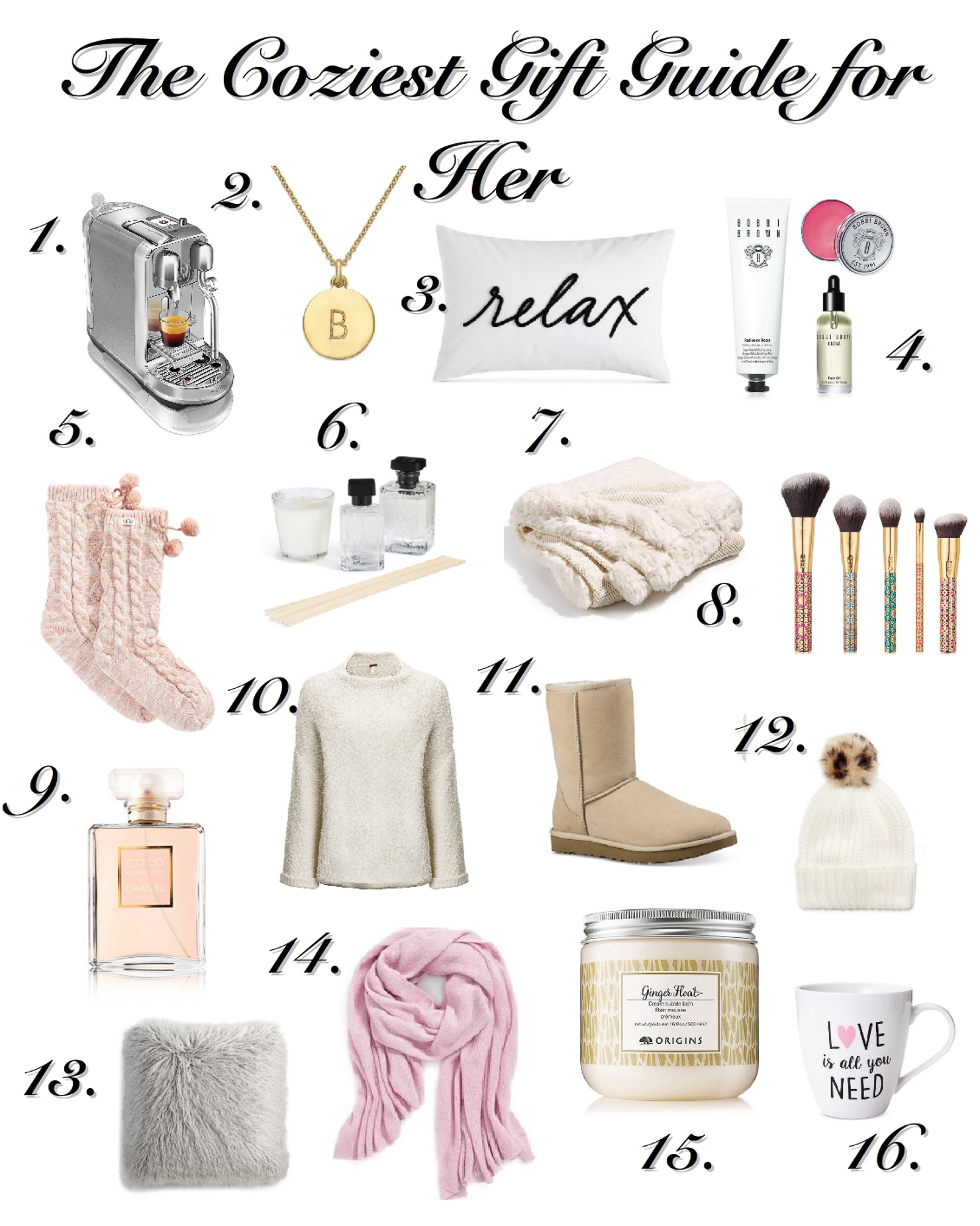 cozy gifts for her at Macy's, holiday shopping, Christmas shopping